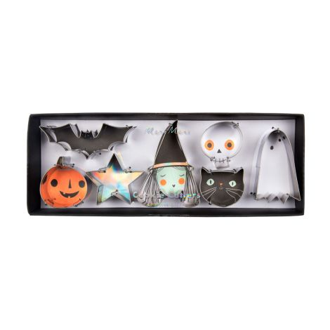 Meri Meri Mini-Ausstechformen Halloween 7er-Set