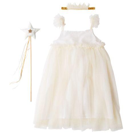 Meri Meri Kostüm White Tulle Fairy 5-6 Jahre