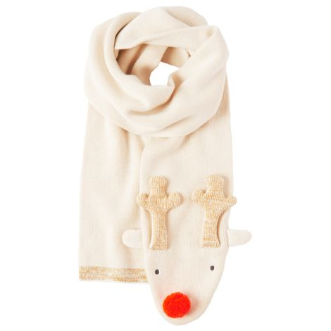 Meri Meri Schal Knitted Reindeer