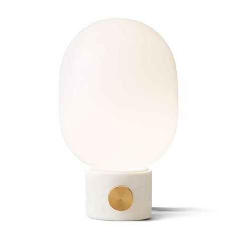 Menu JWDA Tischlampe Concrete Lamp Light Grey/Brass
