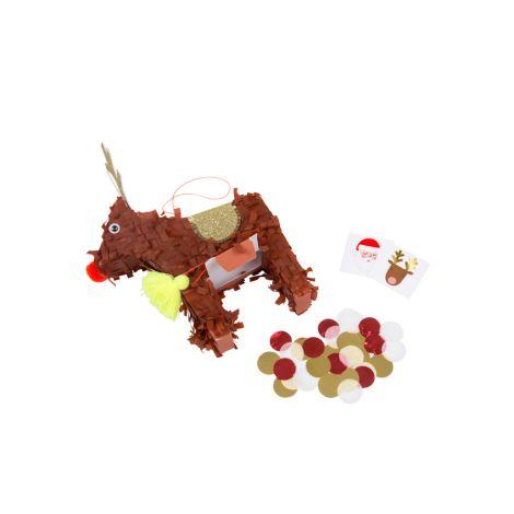 Meri Meri Kleine Pinata mit Füllmaterial Reindeer