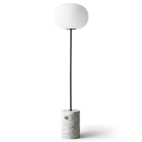 Menu JWDA Stehlampe White Marble Bronzed Brass