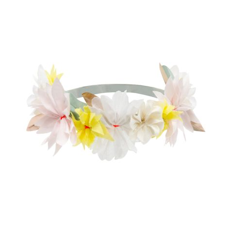 Meri Meri Haarband mit Stoffblüten