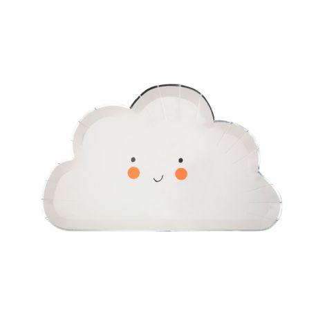 Meri Meri Pappteller Happy Cloud 8 Stk.
