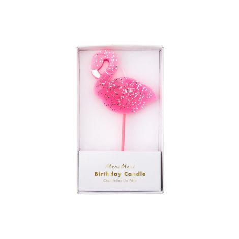 Meri Meri Kerzen Flamingo Large