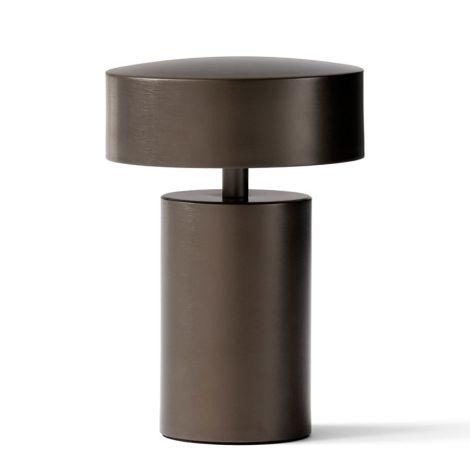 Menu Column Tischlampe Bronze