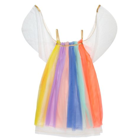 Meri Meri Kostüm Rainbow Girl 3-4 Jahre •