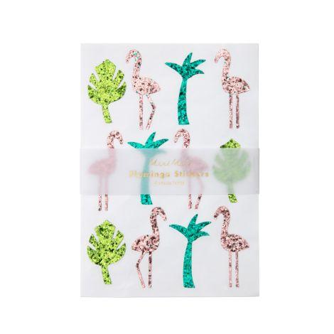 Meri Meri Sticker Glitter Flamingo