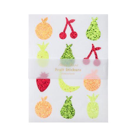Meri Meri Sticker Glitter Fruit