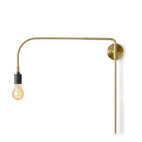 Menu Warren Wandlampe Brass