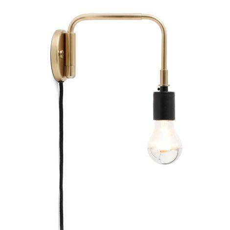Menu Staple Wandlampe Brass