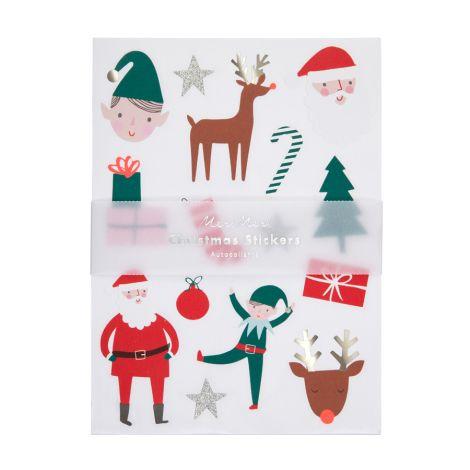Meri Meri Sticker Christmas Icons 10 Bögen