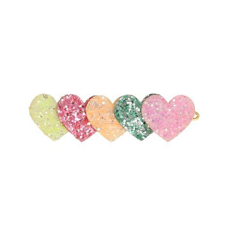Meri Meri Haarspange Heart Glitter