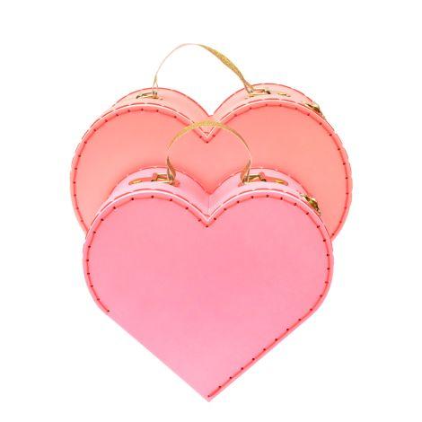 Meri Meri Koffer Heart 2er-Set