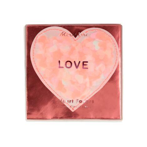 Meri Meri Kleine Geschenke Valentinstag Love Heart 8er-Set