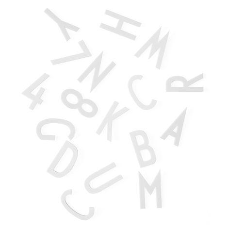 Design Letters Großes Buchstaben-Set für Messageboard White - 132 Teile •