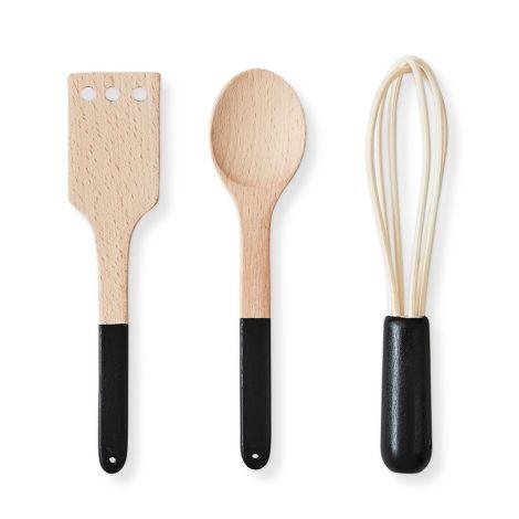 Design Letters Kinder-Küchenbesteck Cooking Tools 3-teilig