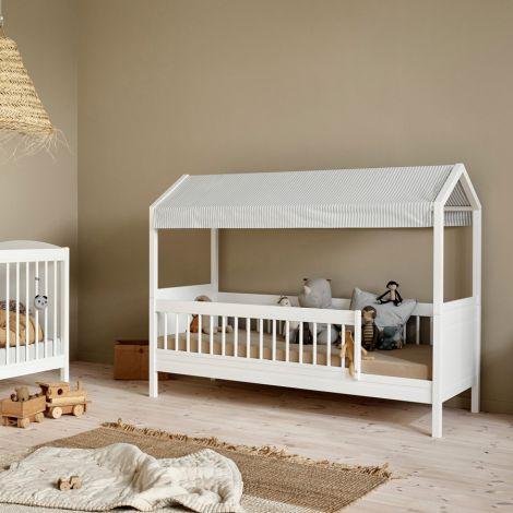 Oliver Furniture Seaside Lille+ Stoffbezug für Himmelgestell Grau