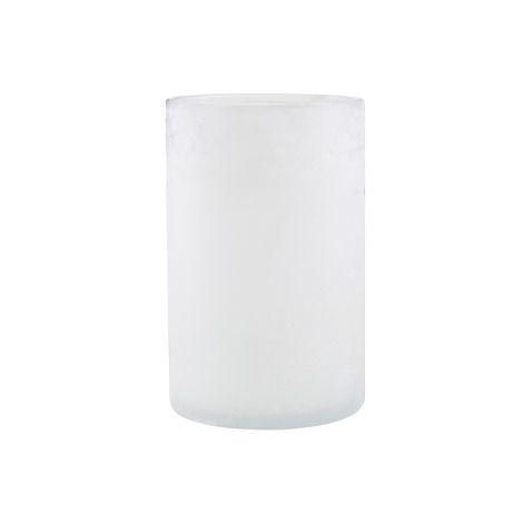 House Doctor Teelicht Mist Weiß 19,5 cm