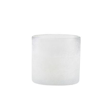 House Doctor Teelicht Mist Weiß 11,5 cm