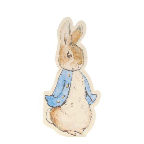 Meri Meri Papierserviette Peter Rabbit 20 Stk.