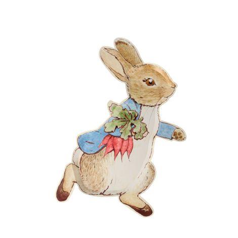 Meri Meri Pappteller Peter Rabbit 12 Stk.