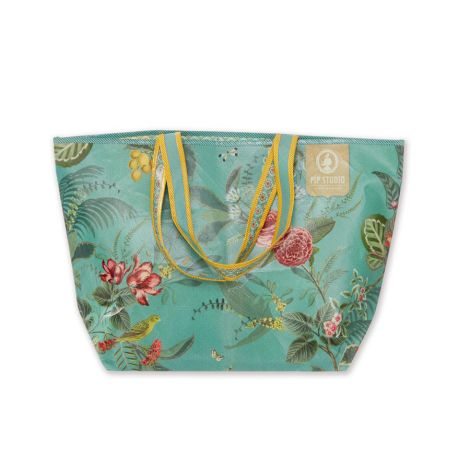 PIP Studio Tasche Floris Beach Bag Green