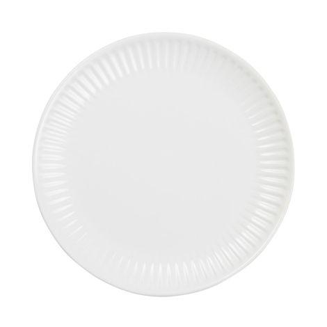 IB LAURSEN Teller Mynte Pure White 19,5 cm neues Design