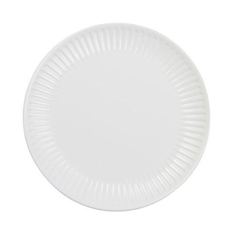 IB LAURSEN Speiseteller Mynte Pure White 28 cm neues Design