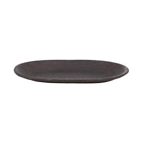 House Doctor Tablett Mura Antikes Braun 16 cm