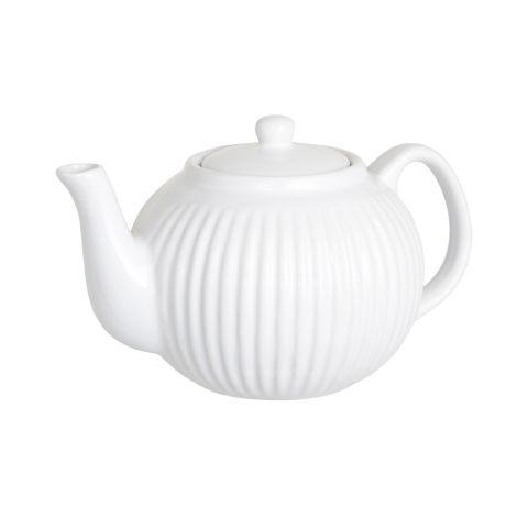 IB LAURSEN Teekanne Mynte Pure White 1 L •