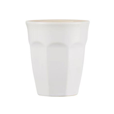 IB LAURSEN Latte-Becher Mynte Pure White
