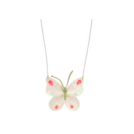 Meri Meri Halskette Glitzer Schmetterling