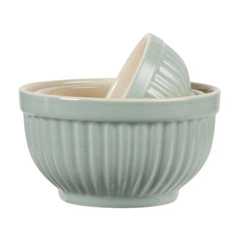 IB LAURSEN Mynte Mini Schalen 3er-Set Green Tea
