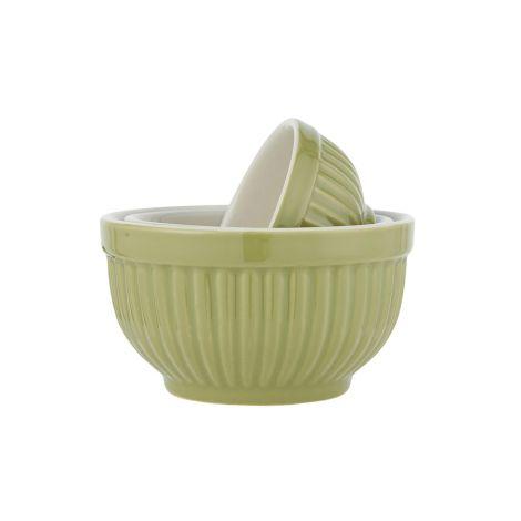 IB LAURSEN Schüssel Mini Mynte Herbal Green 3er-Set