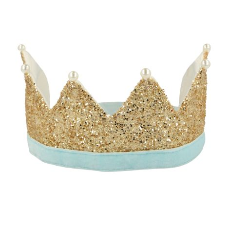 Meri Meri Party-Krone Gold & Perlen