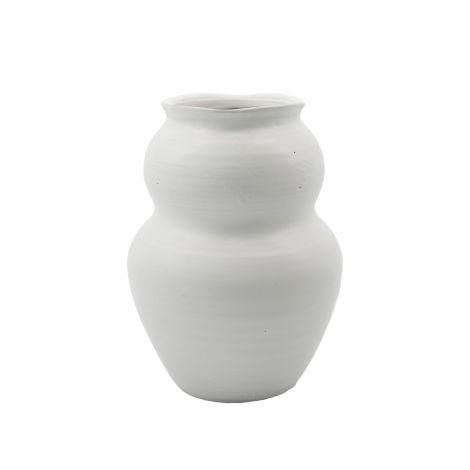 House Doctor Vase Juno Weiß 22,5 cm