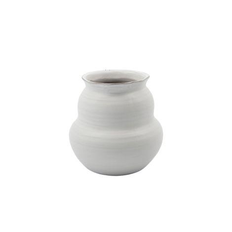 House Doctor Vase Juno Weiß 15 cm