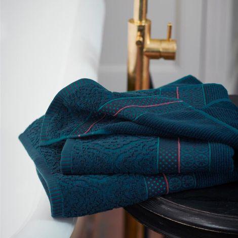 PIP Studio Handtücher Soft Zellige Dark Blue