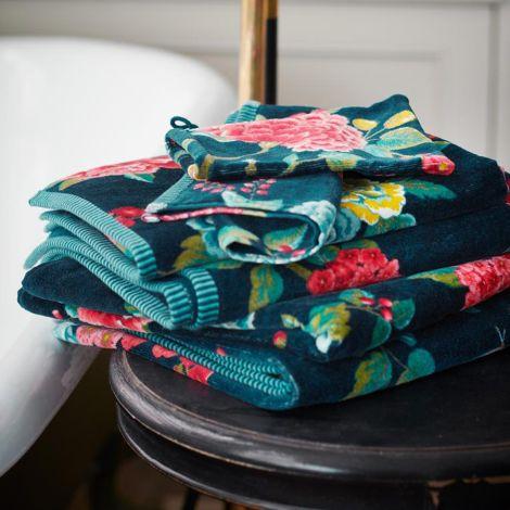 PIP Studio Handtücher Good Evening Dark Blue Handtuch: 55 x 100 cm