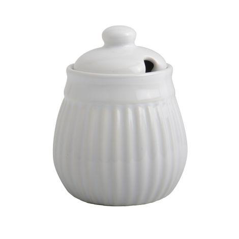 IB LAURSEN Mynte Zuckerdose Pure White