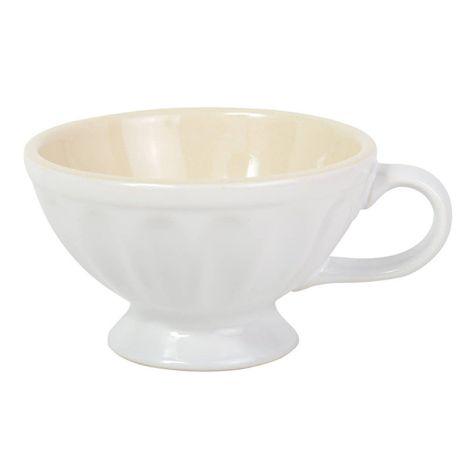 IB LAURSEN Große Tasse Pure White