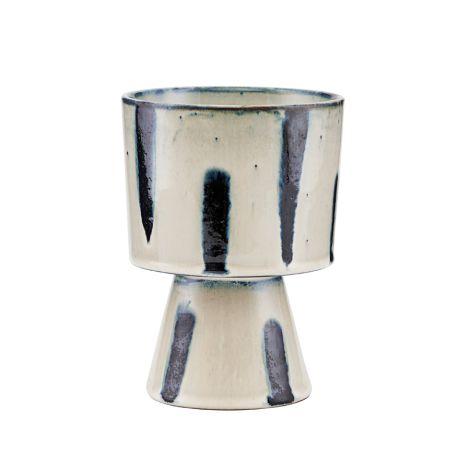 House Doctor Vase/Übertopf Mahali Beige