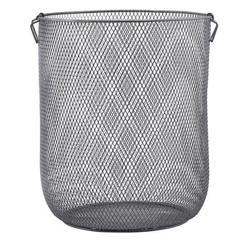 House Doctor Korb Metall Jaipur Laundry Grau 54 cm