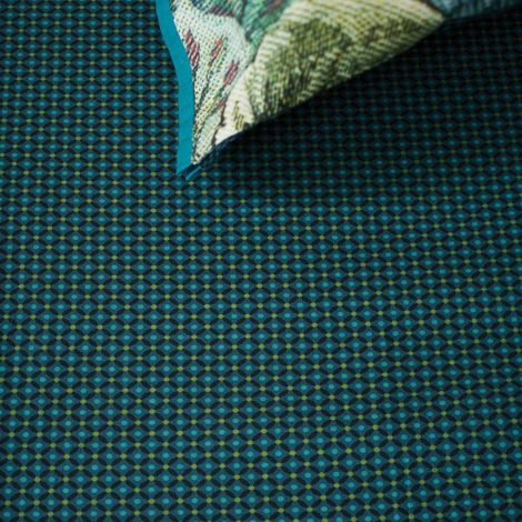 PIP Studio Spannbettlaken Cross Stitch Dark Blue
