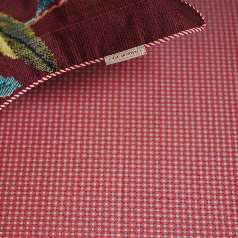 PIP Studio Spannbettlaken Cross Stitch Pink 180 x 200 cm