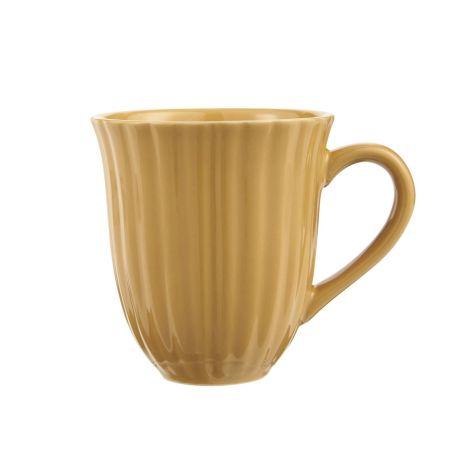 IB LAURSEN Tasse mit Rillen Mynte Mustard