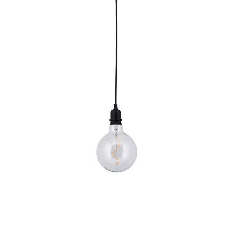 House Doctor Lampe Batteriebetrieben Coso Schwarz