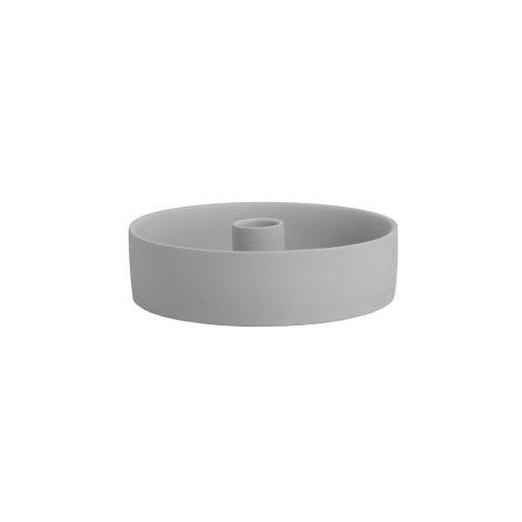 Storefactory Kerzenhalter/Windlichtbasis Storm Light Grey