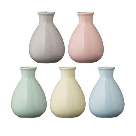 bloomingville vase caroline blau online kaufen emil paula. Black Bedroom Furniture Sets. Home Design Ideas